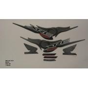 Faixa Xre 300 10 - Moto Cor Preta (887 - Kit Adesivos)
