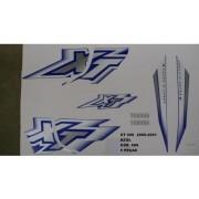 Faixa Xt 600 00/01 - Moto Cor Azul (686 - Kit Adesivos)
