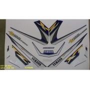 Faixa Xtz 125 03 - Moto Cor Azul (568 - Kit Adesivos)