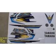 Faixa Xtz 125 05 - Moto Cor Azul (692 - Kit Adesivos)