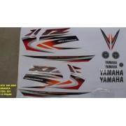 Faixa Xtz 125 05 - Moto Cor Branca (691 - Kit Adesivos)
