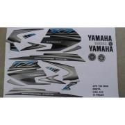 Faixa Xtz 125 06 - Moto Cor Preta (836 - Kit Adesivos)