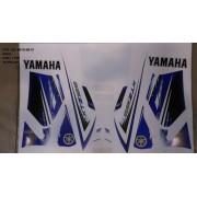 Faixa Xtz 125 12/13 - Moto Cor Azul (1135 - Kit Adesivos)