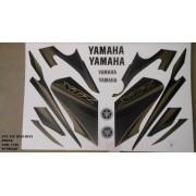 Faixa Xtz 125 12/13 - Moto Cor Preta (1136 - Kit Adesivos)