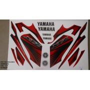 Faixa Xtz 125 12/13 - Moto Cor Vermelha - Kit 1134