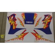 Faixas Dt 200r 94 - Moto Cor Branca (287 - Kit Adesivos)