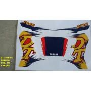 Faixas Dt 200r 96 - Moto Cor Branca (416 - Kit Adesivos)
