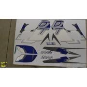 Faixas Dt 200r 98 - Moto Cor Azul (354 - Kit Adesivos)