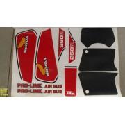 Faixas Xl 250 83 - Moto Cor Branca - Kit 77