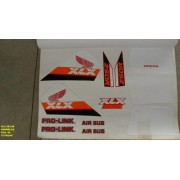 Faixas Xlx 250 88 - Moto Cor Vermelha (89 - Kit Adesivos)