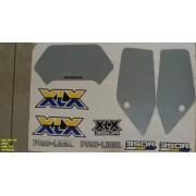 Faixas Xlx 350 90 - Moto Cor Azul (122 - Kit Adesivos)
