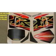 Faixas Xr 200 00 - Moto Cor Branca (425 - Kit Adesivos)