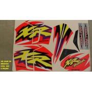 Faixas Xr 200 99 - Moto Cor Branca - Kit 389