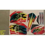 Faixas Xr 200 99 - Moto Cor Roxa (390 - Kit Adesivos)