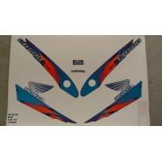 Kit De Adesivos Cb 500 98 - Moto Cor Azul (370 - Adesivos)