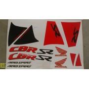 Kit De Adesivos Cbr 450 91 - Moto Cor Cobre (194 - Adesivos)