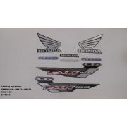 Kit De Adesivos Cg 150 Fan Esdi 15 - Moto Cor Todas - 1198