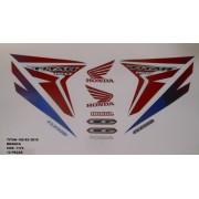 Kit De Adesivos Cg 150 Titan Ex 15 - Moto Cor Branca - 1172
