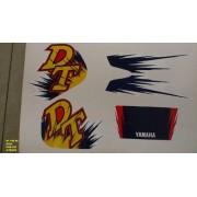 Kit De Adesivos Dt 180 96/97 - Moto Cor Azul 330