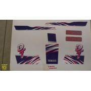 Kit De Adesivos Dt 200 92/93 - Moto Cor Branca 227
