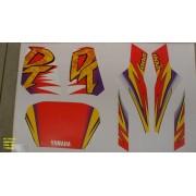 Kit De Adesivos Dt 200 95 - Moto Cor Branca (367 - Adesivos)