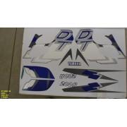 Kit De Adesivos Dt 200r 98 - Moto Cor Azul (354 - Adesivos)