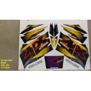 Kit De Adesivos Nx 200 00 - Moto Cor Roxa (424 - Adesivos)