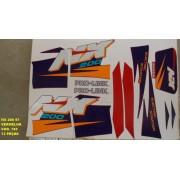 Kit De Adesivos Nx 200 97 - Moto Cor Vermelha 182