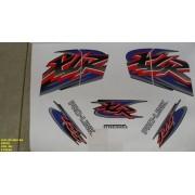 Kit De Adesivos Xlr 125 Ks 01 - Moto Cor Preta 461