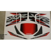 Kit De Adesivos Xr 200 02 - Moto Cor Branca (497 - Adesivos)