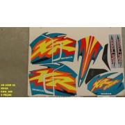Kit De Adesivos Xr 200 98 - Moto Cor Roxa - 388