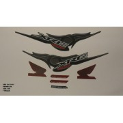 Kit De Adesivos Xre 300 10 - Moto Cor Vermelha 886