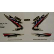 Kit De Adesivos Ybr 125 03 - Moto Cor Bege - Kit 547