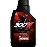 Oleo Para Motor De Moto 4 Tempos 15w50 300v Factory Line 1lt