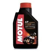Oleo Para Motor De Moto 4 Tempos 7100 10w50 Sintetic 1 Litro