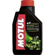 Oleo Para Motor De Moto 4 Tempos Motul 5100 10w30 1 Litro