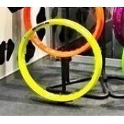 Par Aro Alumínio Amarelo Neon Moto Crypton 17x140+17x140