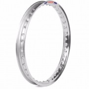 Par Aro Aluminio Polido Moto C100 Dream Medida 17x140+17x140