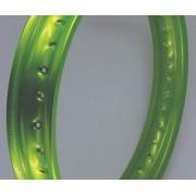 Par Aro Alumínio Verde Ninja Titan 150 Mix 18x160+18x185
