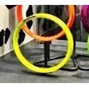 Par Aro Moto Alumínio Cor Amarelo Neon Falcon 21x185+17x250