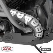 Scam Spta300 Protetor Escapamento Bmw R1200gs 2013+