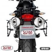 Scam Spto047 Suporte Baú Lateral Bmw G650gs 2009+