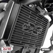 Scam Spto085 Protetor Radiador Honda Nc700x Nc750x 2013+