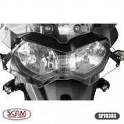 Scam Spto303 Protetor Farol Policarbonato Tiger800 2012+