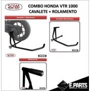 Scam Spto329 Spto318 Cavalete Monobraço Honda Vtr 1000