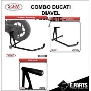 Scam Spto330 Spto318 Cavalete Monobraço Ducati Diavel