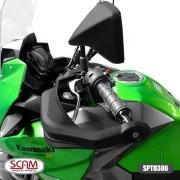 Scam Spto386 Protetor De Mao Kawasaki Versys X300 2018+