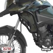 Scam Sptop398protetor Motor Carenagem Honda Xre190 2016+