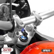 Spta217 Scam Riser Adaptador Guidao S1000xr 2016+ Prata