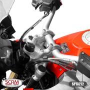 Spta272 Scam Riser Adaptador Guidao S1000xr 2016+ Prata